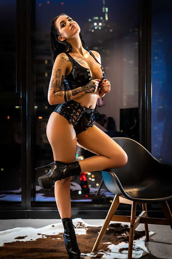 Female Stripper Melbourne - Peach